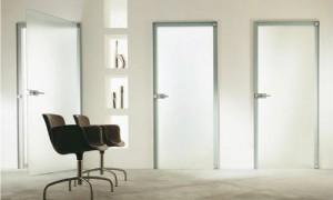 Стеклянные двери Дариано Порте в домашнем интерьере